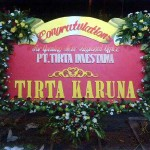 Bunga papan Congratulation for grand opening type U