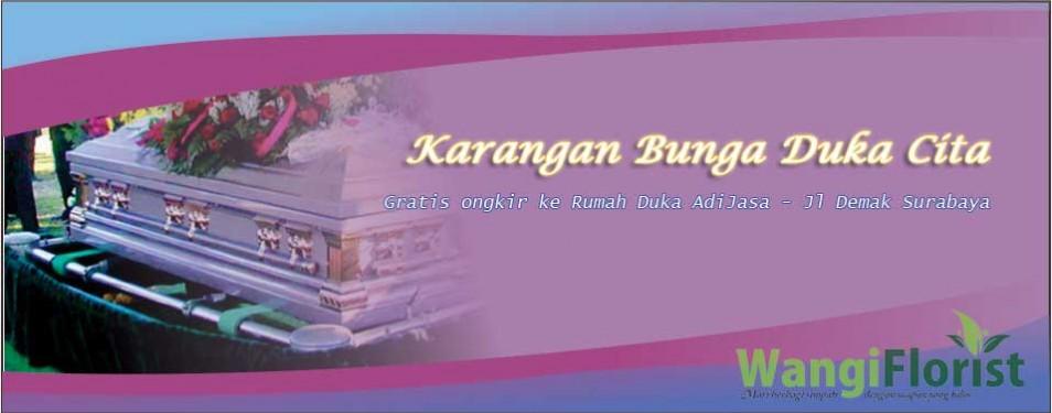 Contoh Karangan Bunga Duka Cita di Toko Bunga Surabaya...